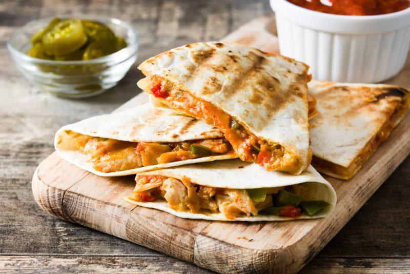 Рецепт из мексиканской кухни: Мексиканская кесадилья