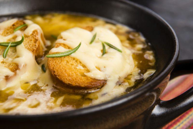 Луковый суп: рецепт приготовления