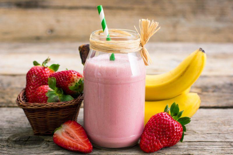 Вкус тропиков: клубнично-банановое настроение