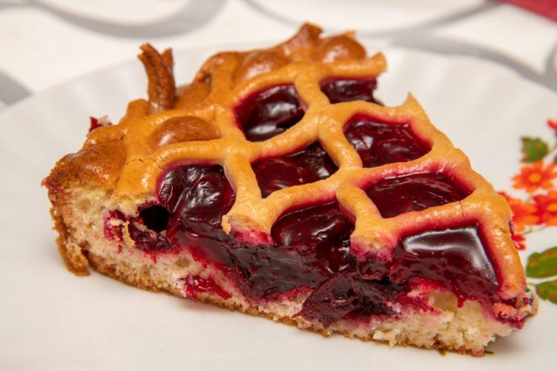 Рецепт пятый: дрожжевой пирог с вареньем в духовке