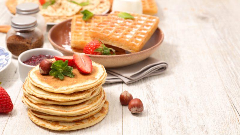 Вкусные панкейки - рецепт пошаговый с фото