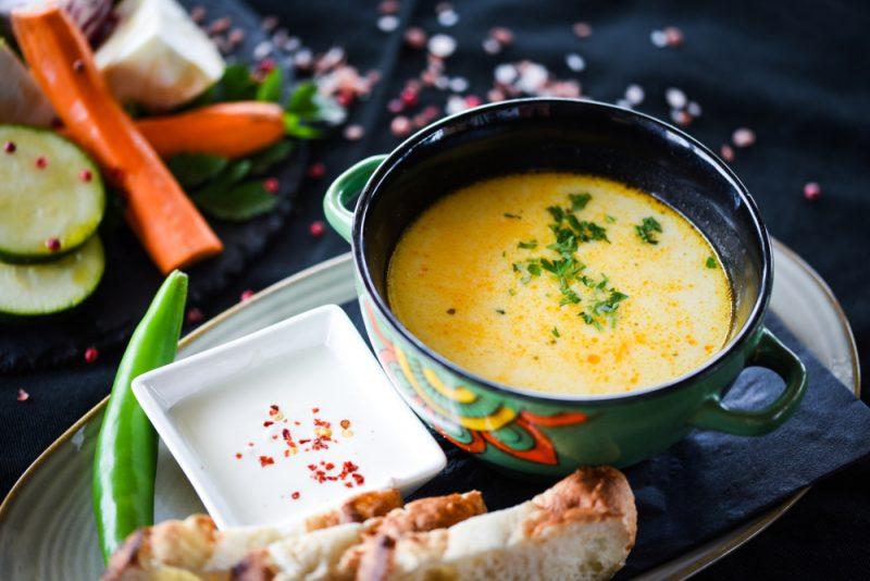 Ароматный крем-суп