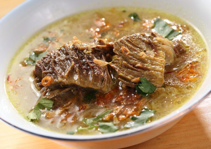 Суп с мясом - лагман