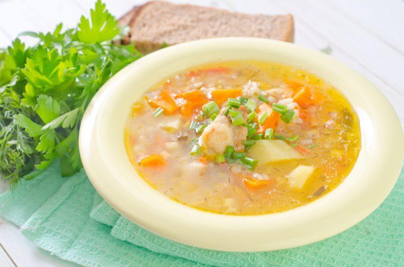 Вкусные рецепты рисового супа