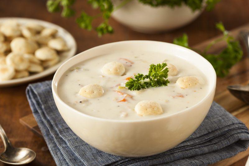 Как приготовить суп чаудер?