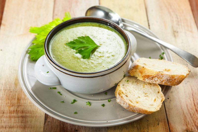 Суп из сельдереем для похудения