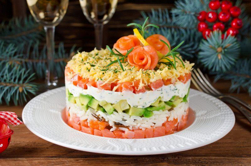 Простые рецепты вкусных салатов из рыбы