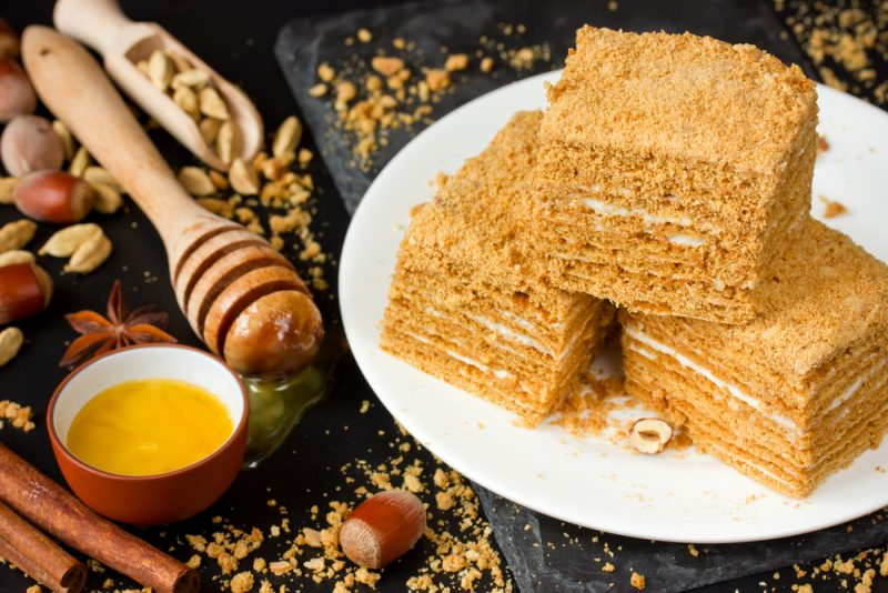 Ароматный медовый торт: рецепт классический