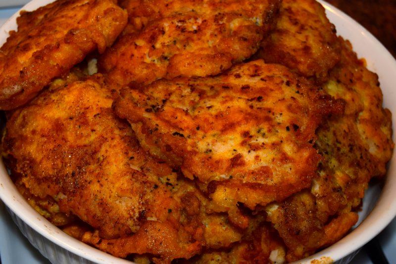 Оригинальные отбивные из куриного филе: рецепт с фото