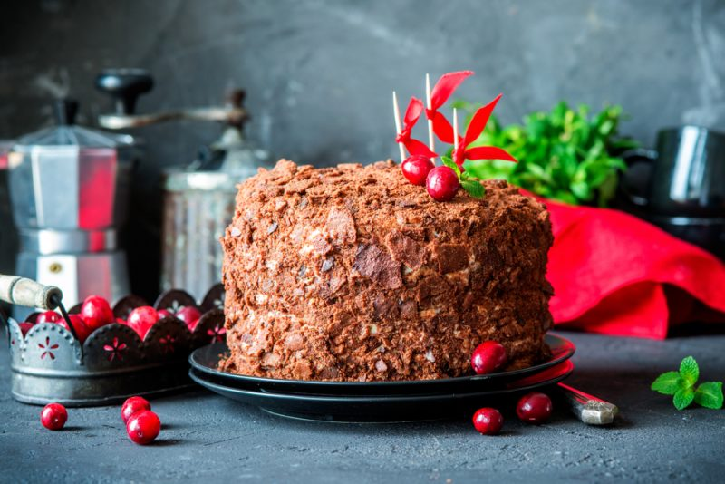 Классический рецепт торта «Трухлявый пень»