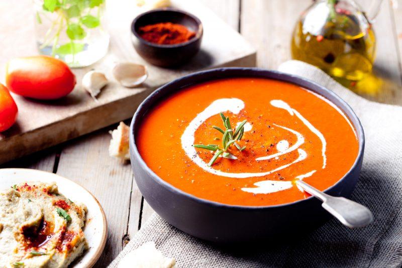 Овощной крем-суп: рецепты с фото