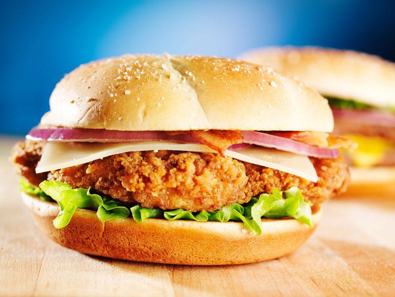 Сэндвичи с куриной грудкой