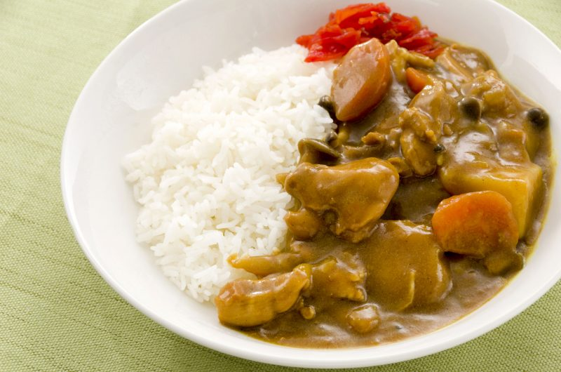 Рецепт приготовления тушеной курицы с рисом