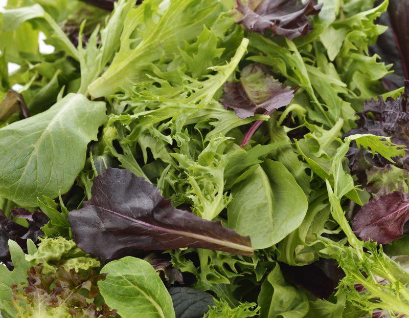 Зеленый микс-салат