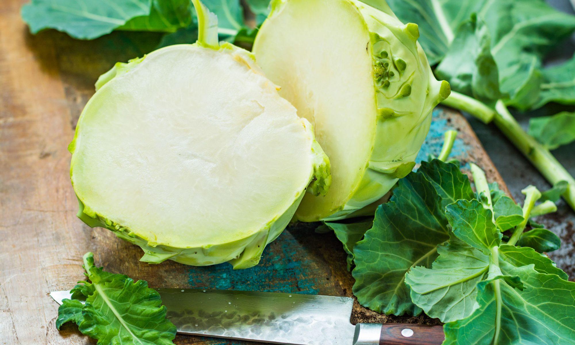 Простые рецепты из капусты кольраби