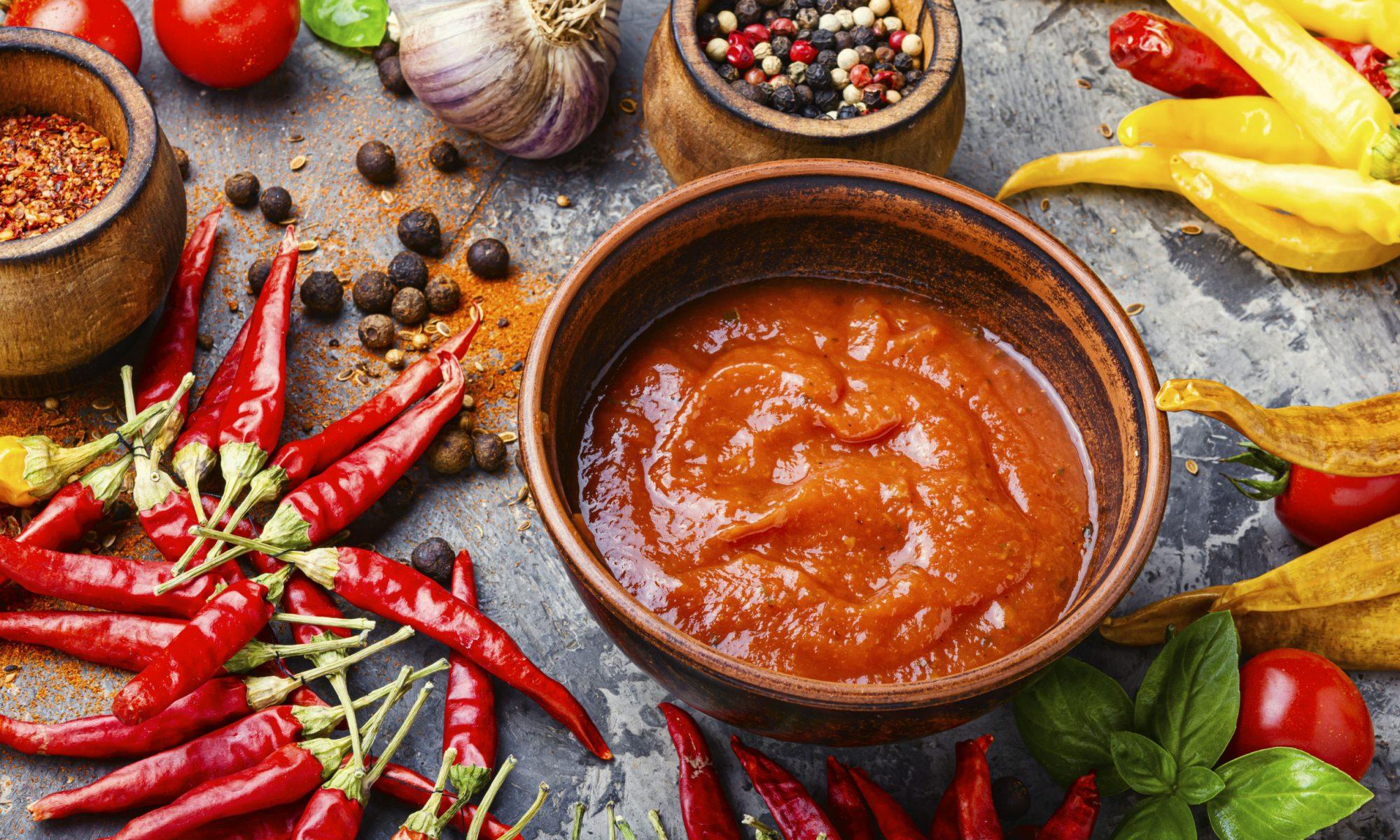 Аджика: рецепт самой вкусной домашней аджики