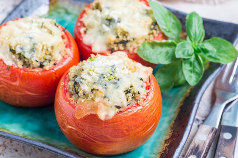 Сытные помидоры с рикоттой