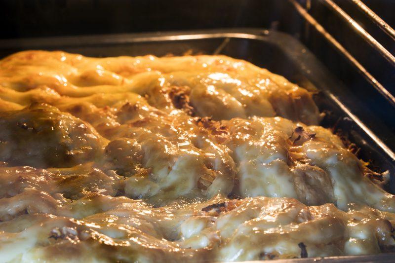 Мясо-по орловски с сытной шубкой