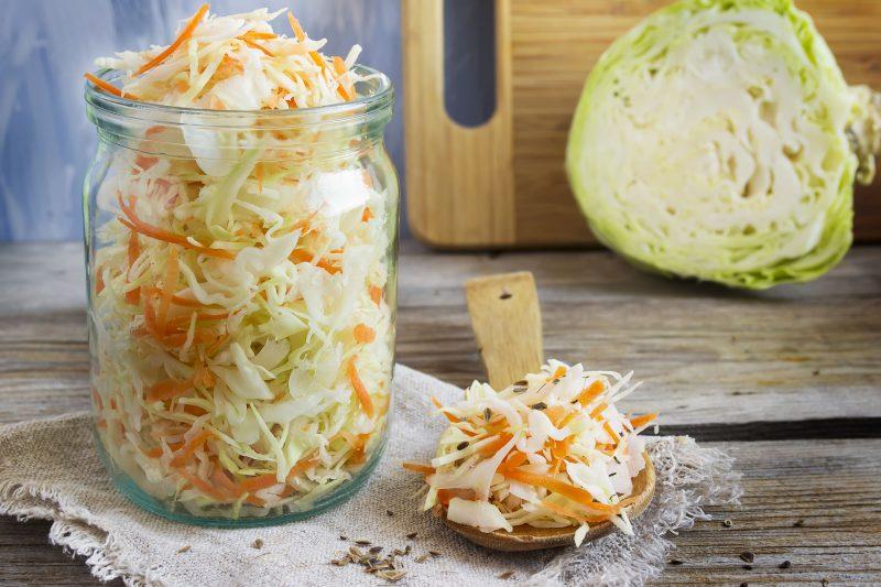 Оригинальная квашеная капуста: рецепт без соли!