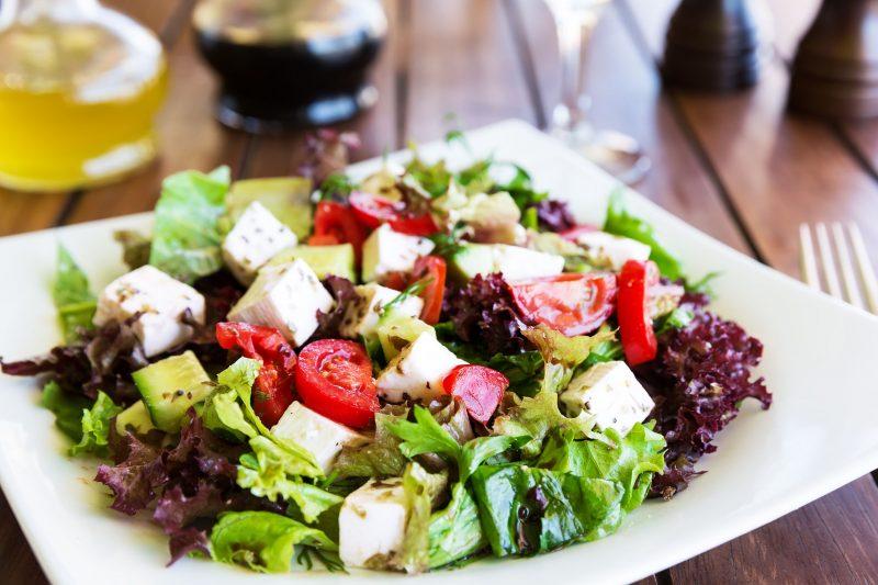 Овощной микс – идеальный салат на новый год