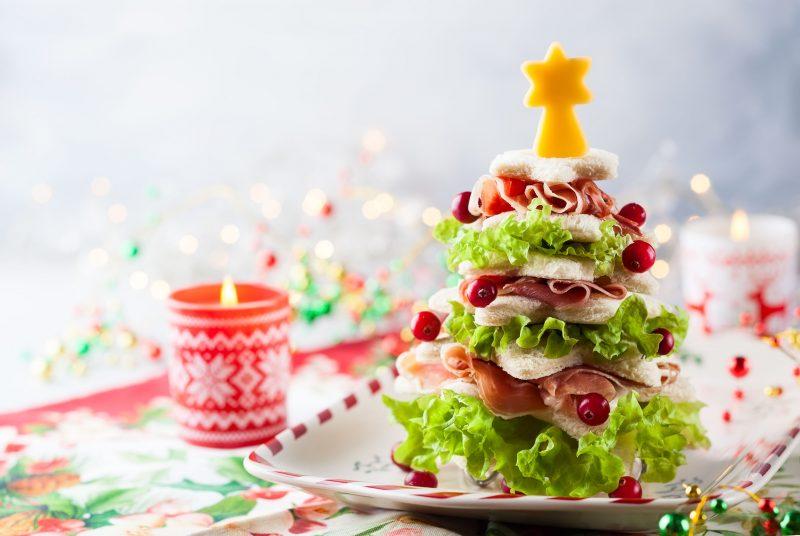 Закуска-украшение «Новогодняя елочка»