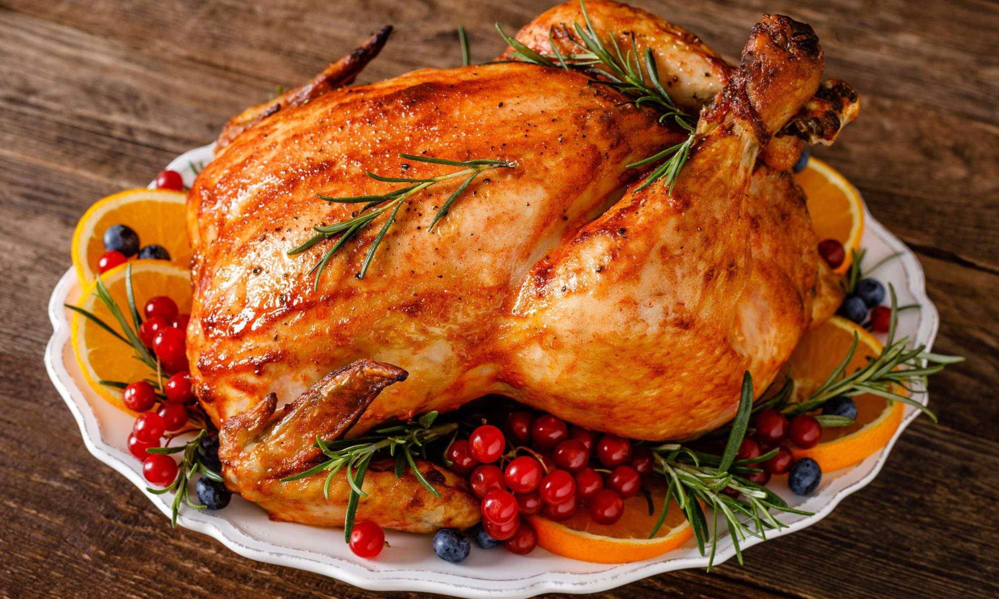 Курица, запеченная для новогоднего стола