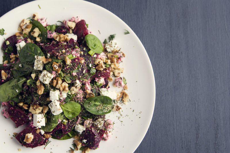 Обычный салат в необычном исполнении