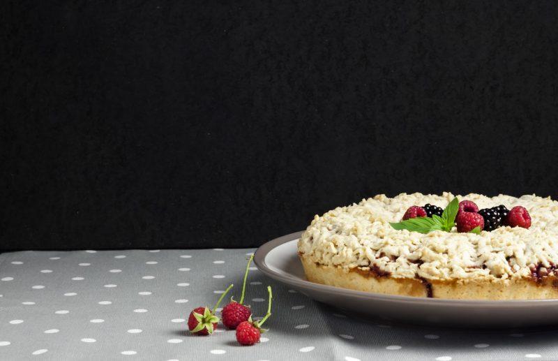 Миндальный тертый пирог