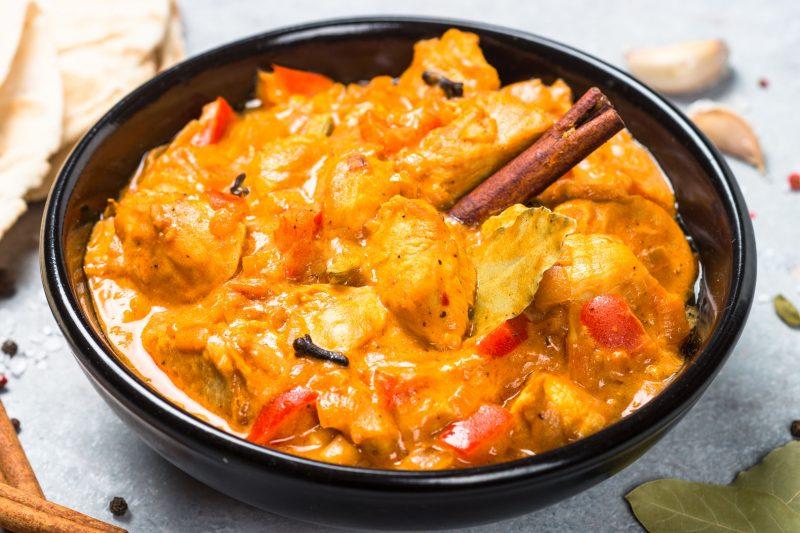 Филе в сливочно-томатном соусе