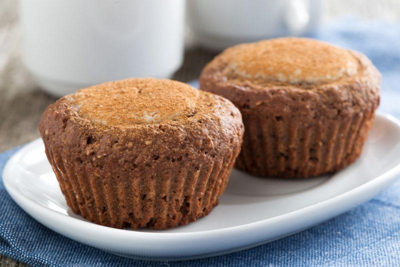 Рецепт вкусных кексов из шоколада и творога