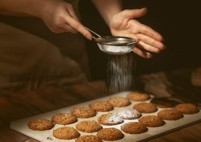 """Печенье """"Снежный шар"""" с шоколадной крошкой"""