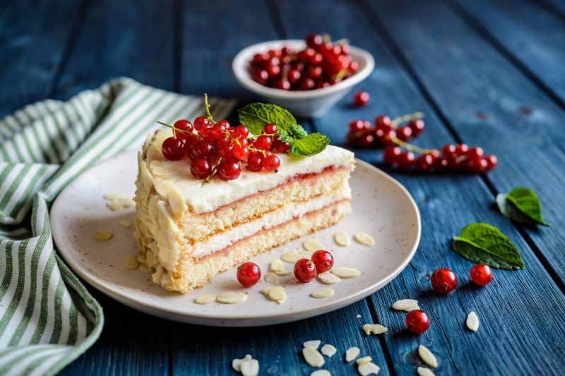 Рецепт бисквитного торта на кефире