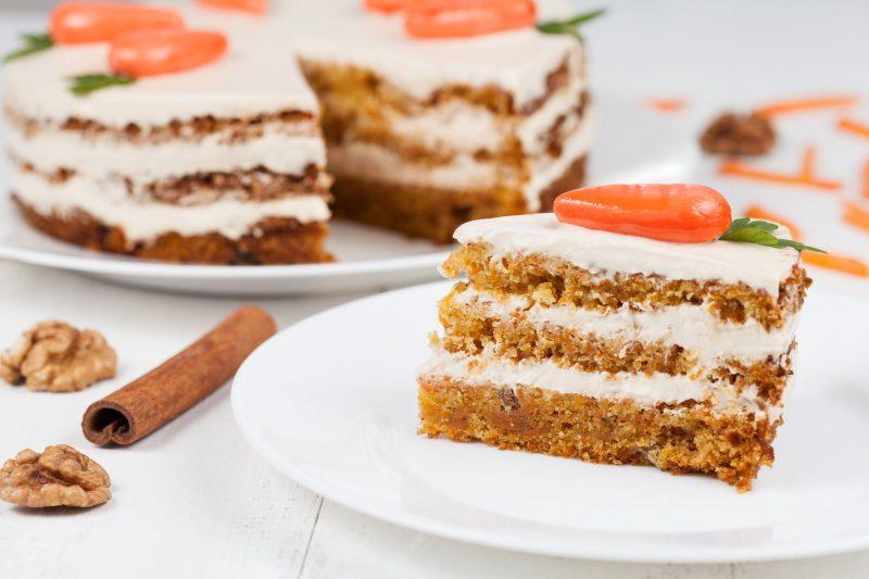 Торт бисквитный рецепт в домашних условиях на основе моркови