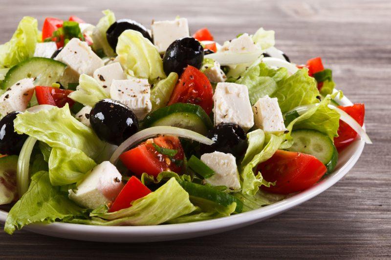 Греческий салат рецепт классический пошаговый