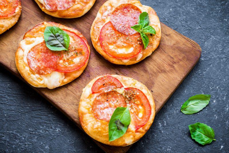 Мини-пицца из лаваша