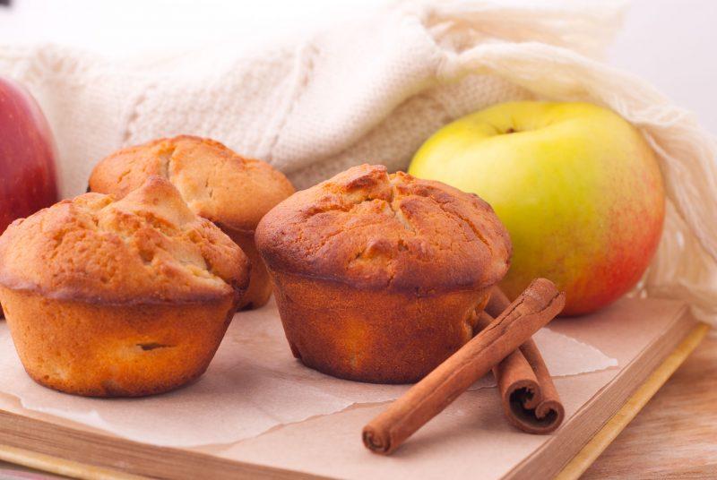 Яблочные кексы: рецепты с фото простые и вкусные