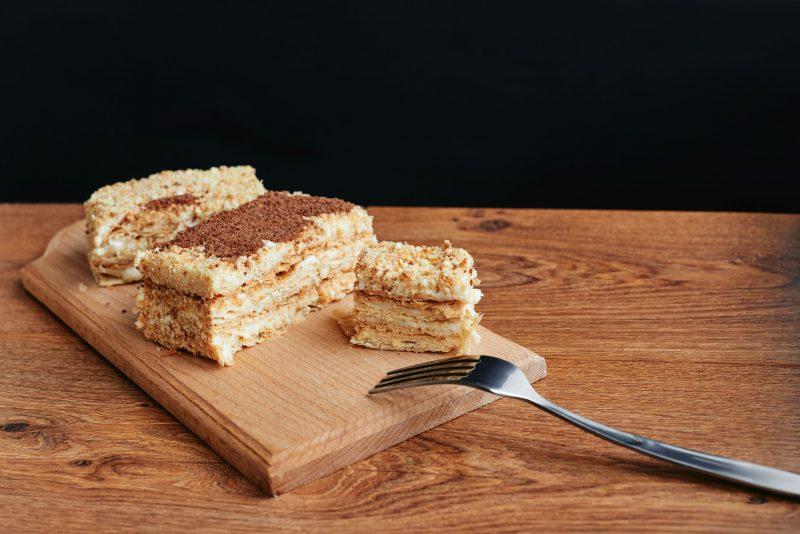 Творожный торт в стиле Наполеон