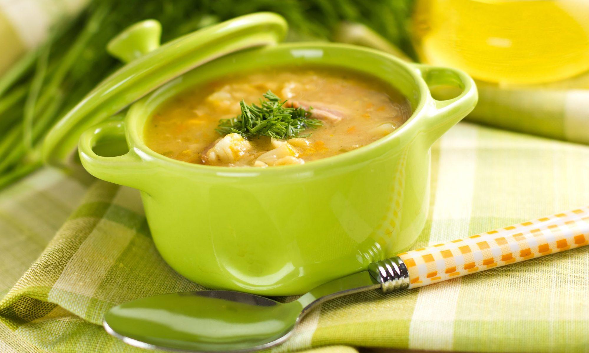 Как быстро приготовить вкусный гороховый суп?