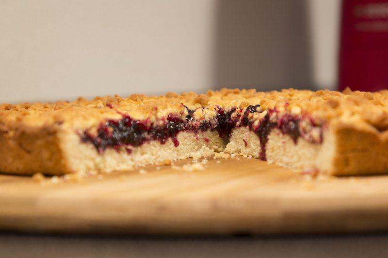 Тертый пирог: тесто со сметаной