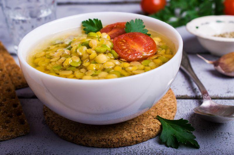 Как приготовить гороховый суп без мяса?