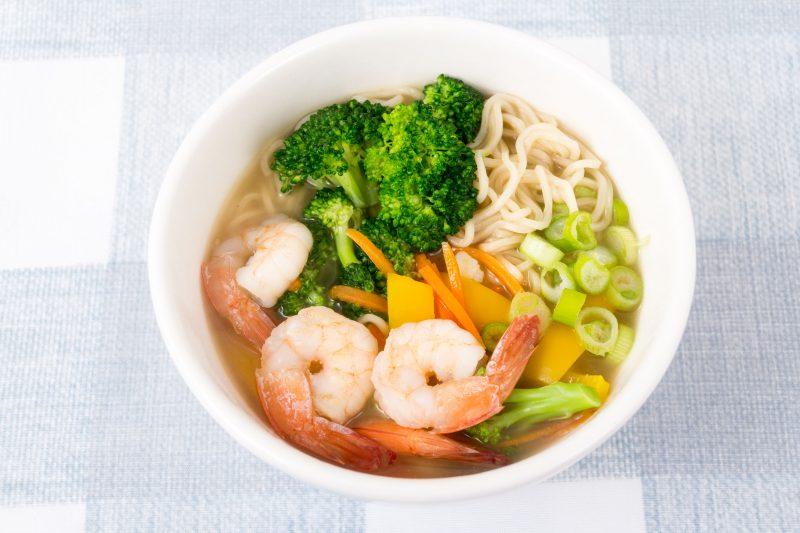 Овощной мисо суп