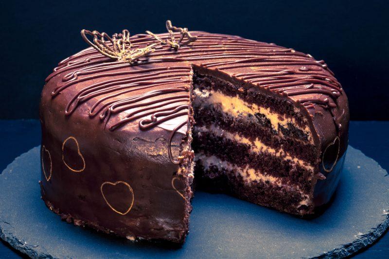 Рецепт торта Прага на сметане