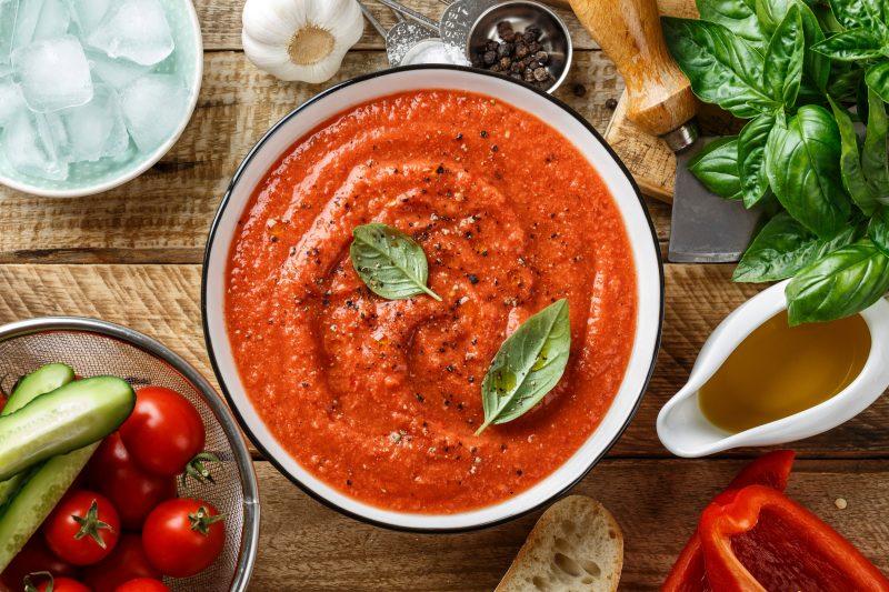 Детский рецепт супа-пюре с болгарским перцем