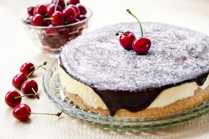Нежный муссовый десерт