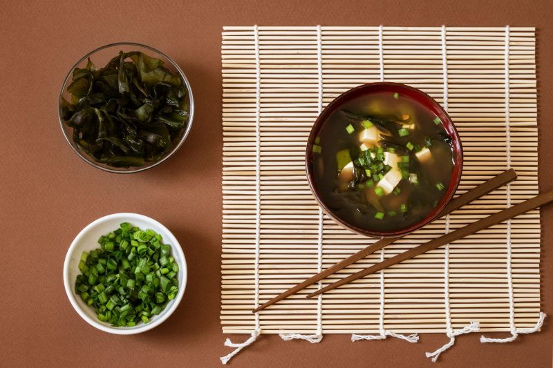 Классический рецепт мисо-супа