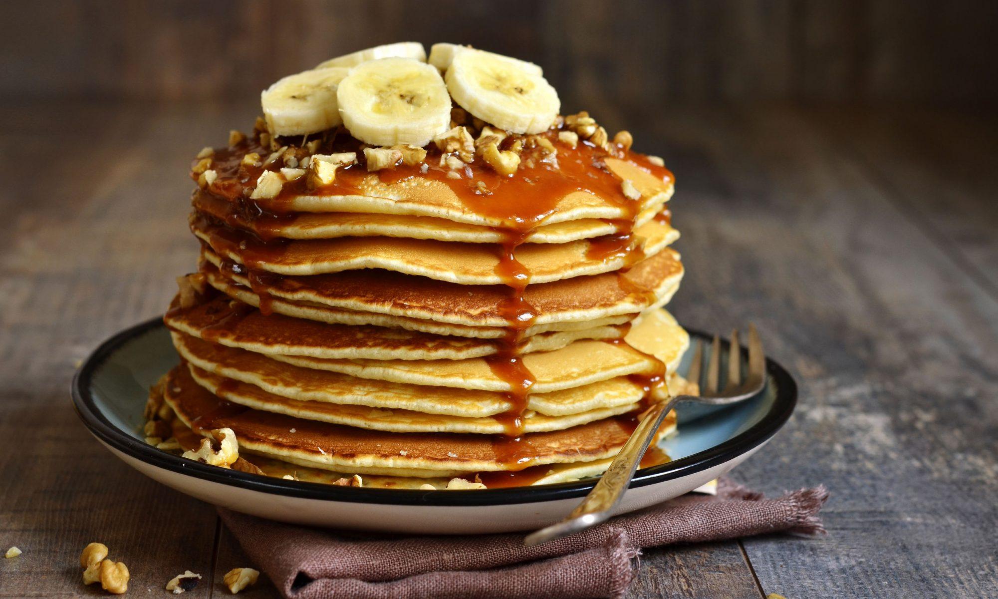 Вкусные рецепты банановых оладий