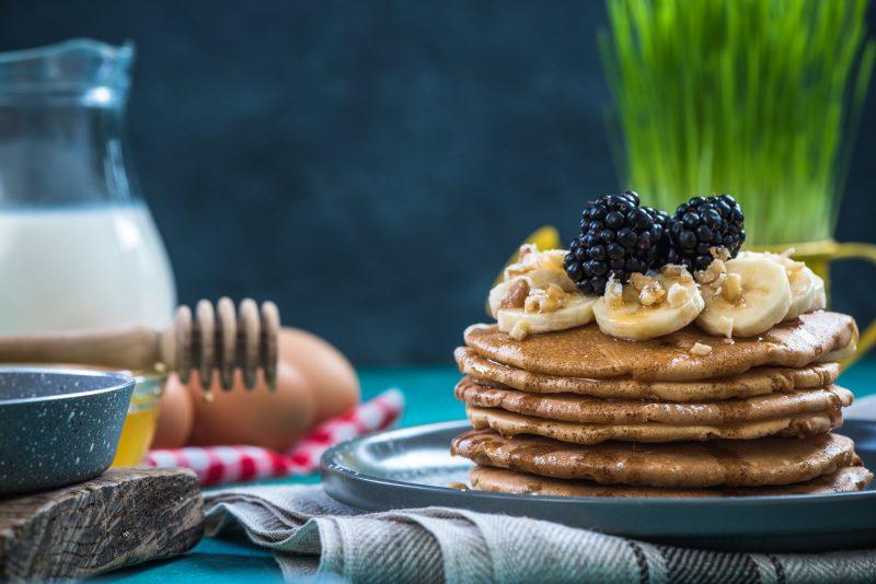 Ароматные банановые оладьи: рецепт с фото пошагово