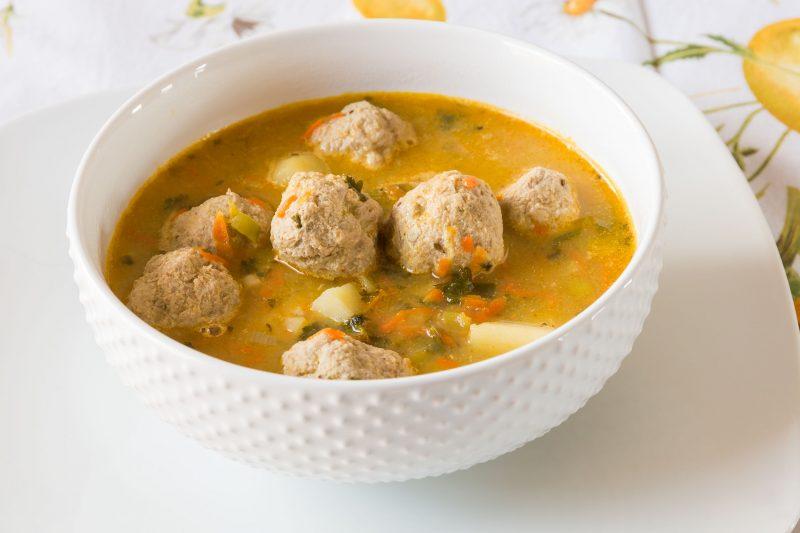 Свадебный суп с фрикадельками: пошаговый рецепт