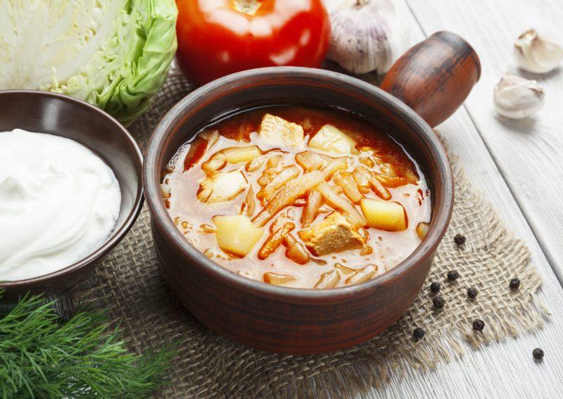 Простые щи из свежей капусты: пошаговый рецепт