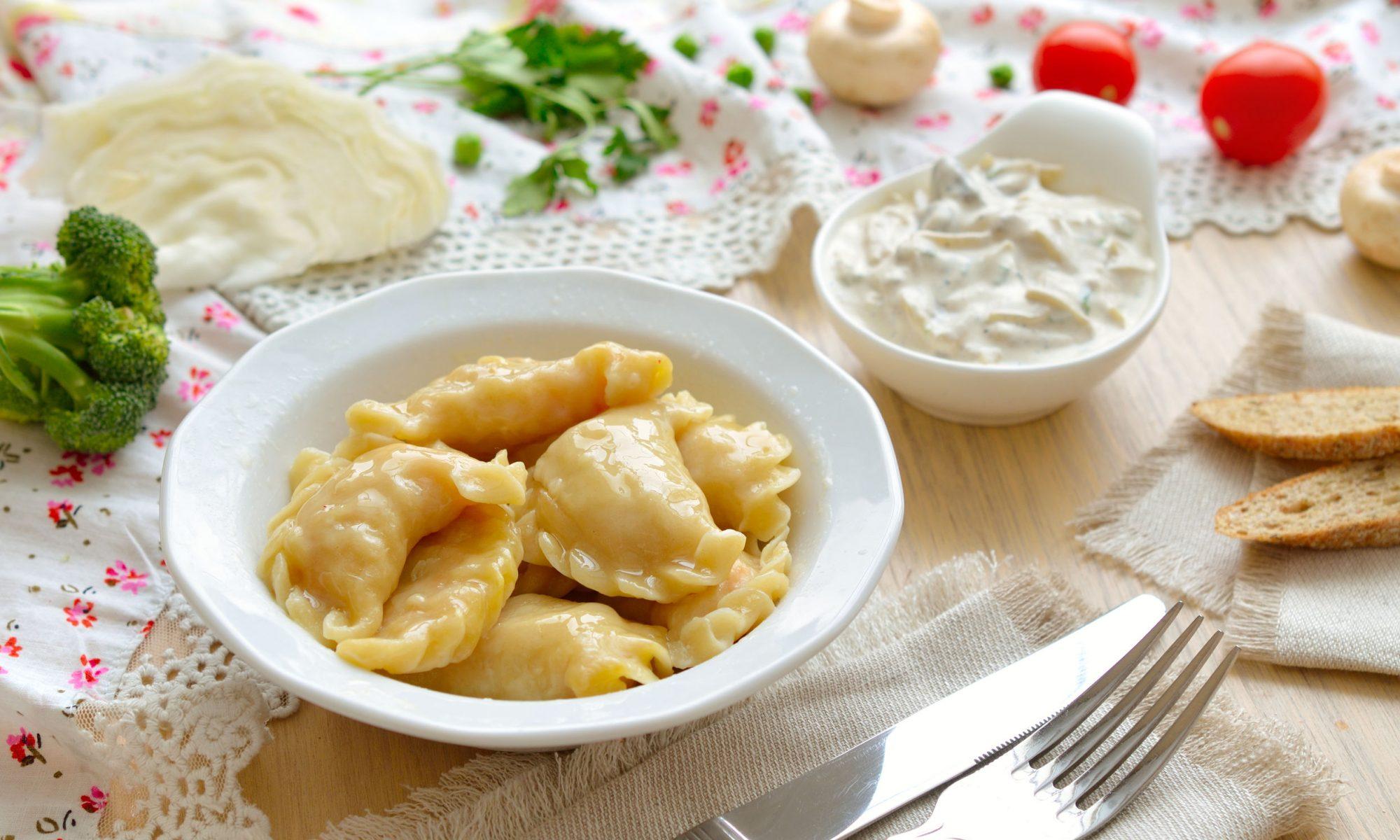 Вареники с картошкой: пошаговый рецепт с фото